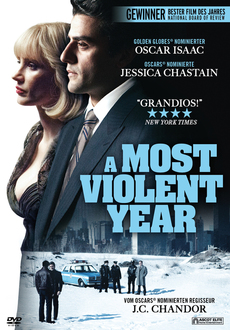 Cover - A Most Violent Year