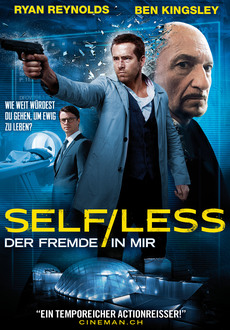Cover - Self/Less - Der Fremde in mir