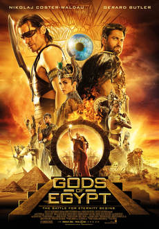 Cover - Gods of Egypt 3D