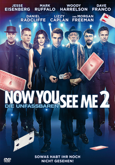 Cover - Now You See Me 2 - Die Unfassbaren 2
