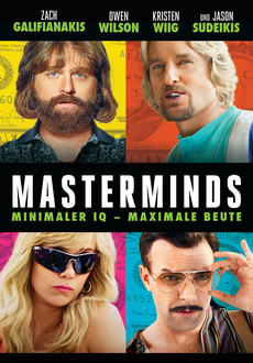 Cover - Masterminds