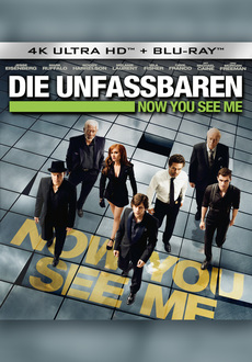 Cover - Now You See Me 4K Ultra HD