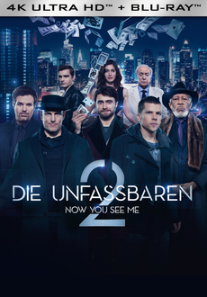Cover - Now You See Me 2 - Die Unfassbaren 2 4K