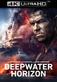 Cover - Deepwater Horizon 4K Ultra HD + Blu-Ray
