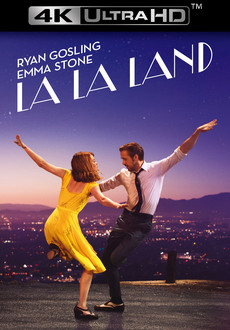 Cover - La La Land 4K Ultra HD + Blu-Ray