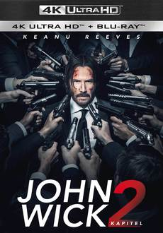 Cover - John Wick: Kapitel 2 - 4K Ultra HD + Blu-Ray