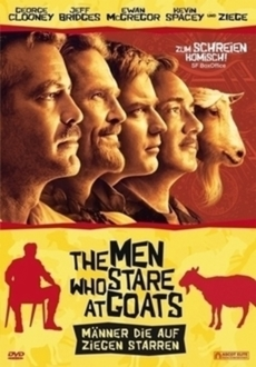 Cover - The Men Who Stare at Goats - Männer, die auf Ziegen starren