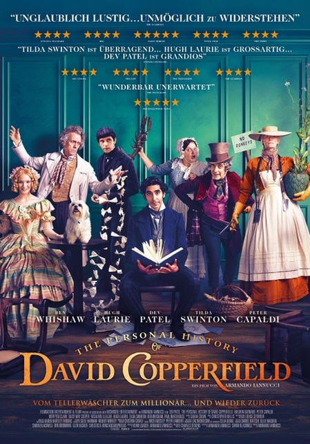 Cover - The Personal History of David Copperfield