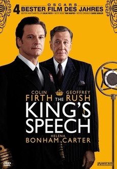 Cover - The King's Speech - Die Rede des Königs