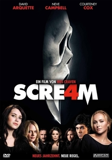 Cover - Scream 4