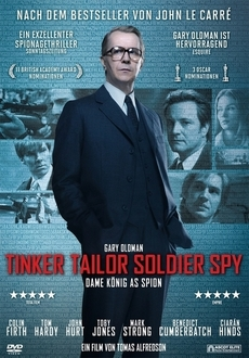 Cover - Tinker Tailor Soldier Spy - Dame König As Spion