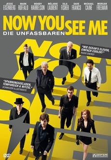 Cover - Now You See Me - Die Unfassbaren