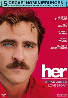 Cover - Her - A Spike Jonze Love Story