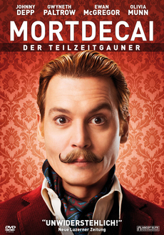 Cover - Mortdecai