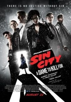 Cover - Sin City: A Dame to Kill For 3D