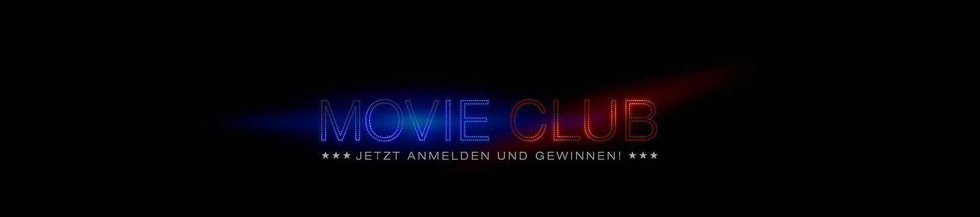 Movie Club Registrierung